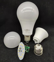 5W 7W 9W 12W 15W 18W A55 A60 A70 A80 led light bulb E27 B22 factory supply raw material with SKD part