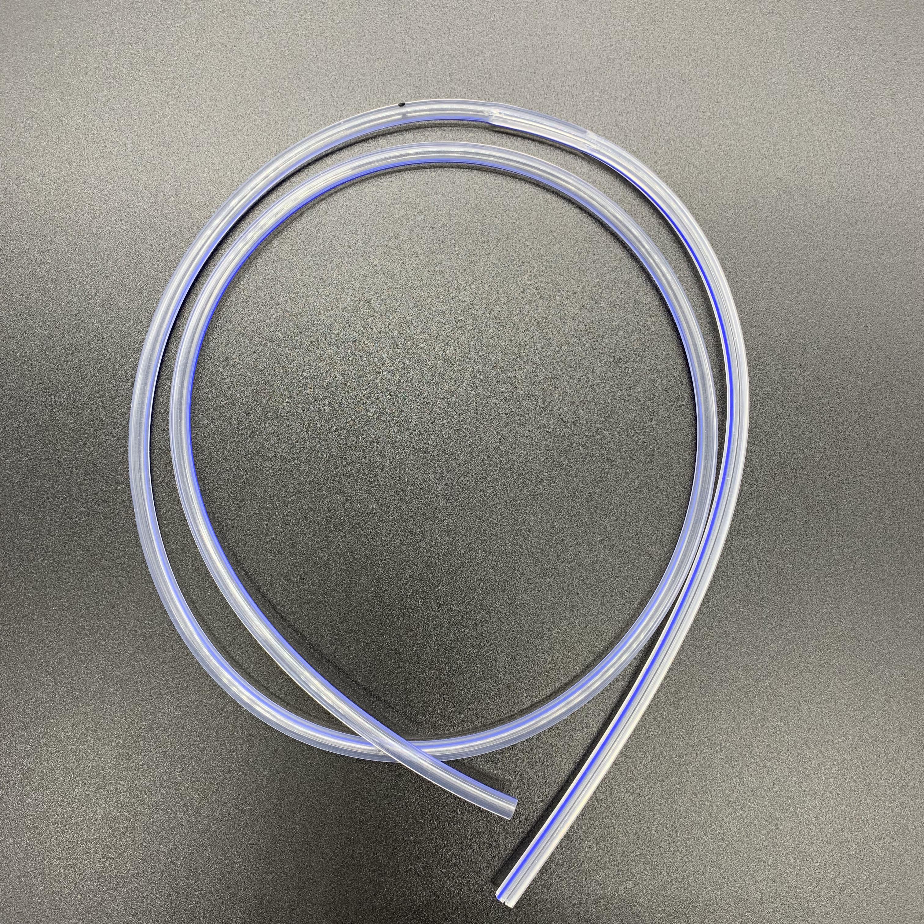 round perforated drain wound drainage tube round silicone tube