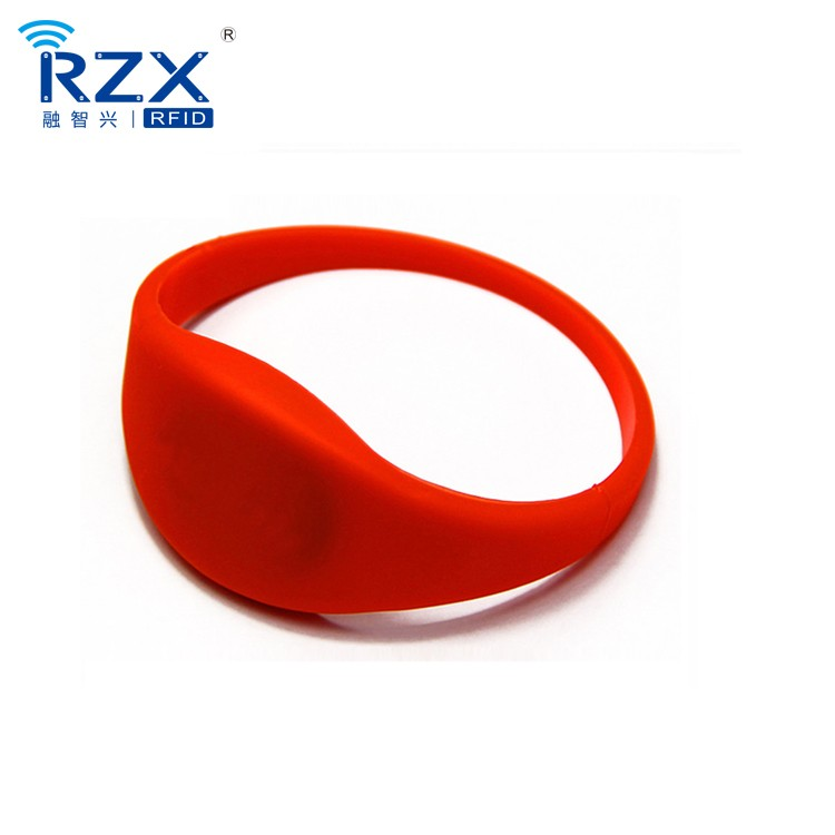 Professionele Rfid armband MIFARE Classic 1K 13.56Mhz Silicon RFID polsband/armband