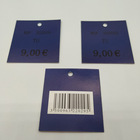 High End Custom Color and Logo Clothing Hang Tag