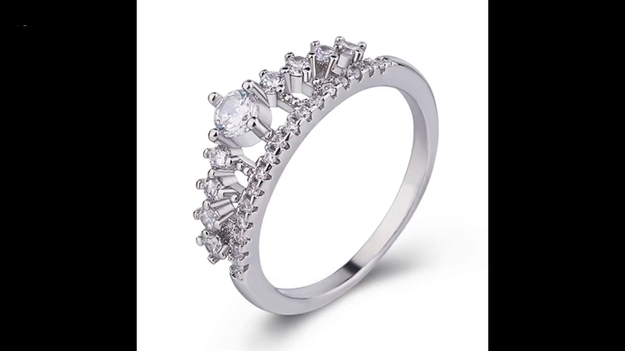 New Arrival stainless steel metal wedding and engagement ring