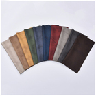 100%Polyester Warp Knitting Bronzing Suede/Faux Leather Upholstery Fabric