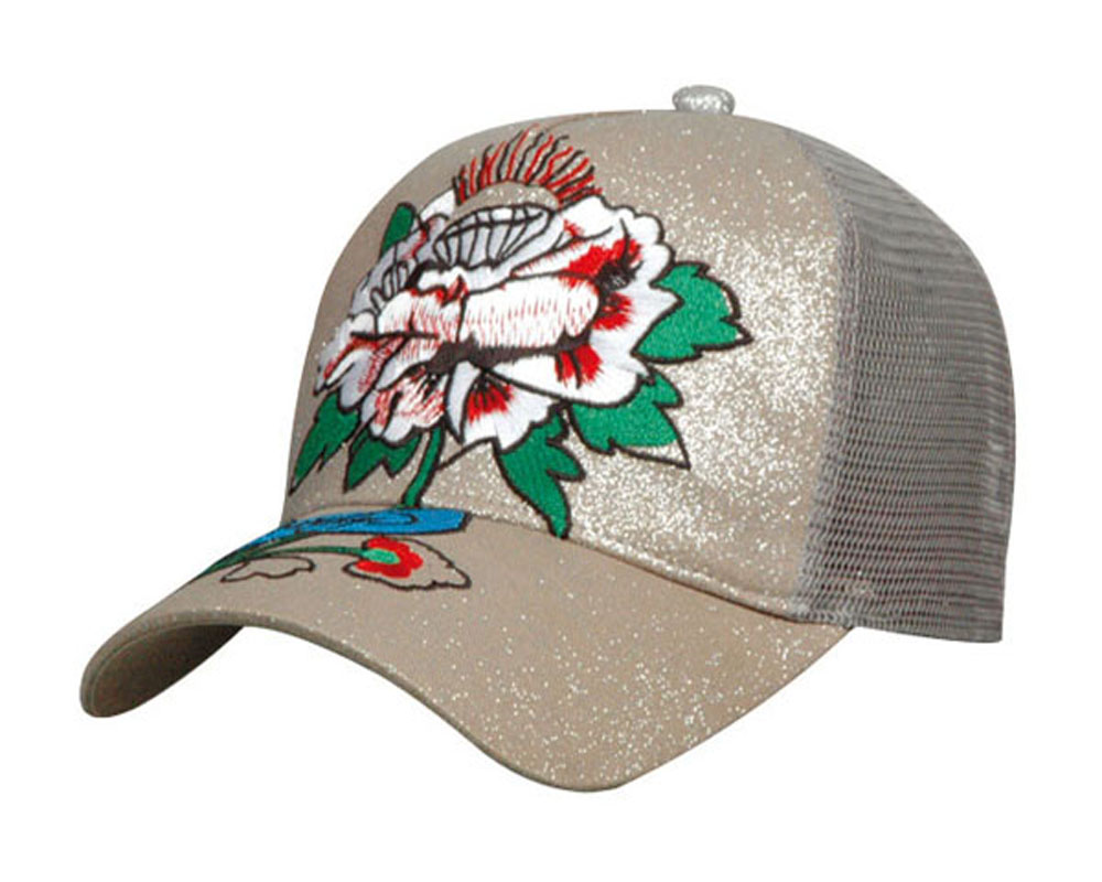attractive fashion seven-color light EL flashing baseball cap with embroidery logo(EN71-1,2,3)