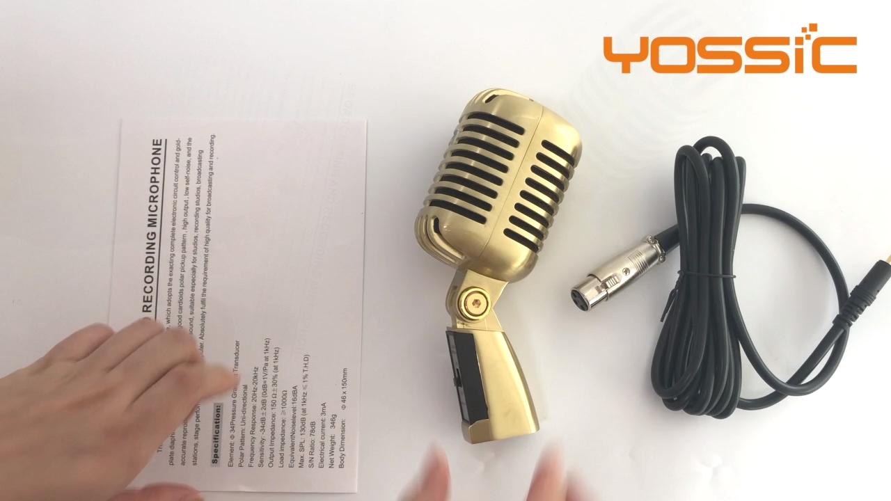Thiết Kế Mới Phòng Thu Chuyên Nghiệp Microphone Hoành Lớn Ghi Âm Và Ca Hát