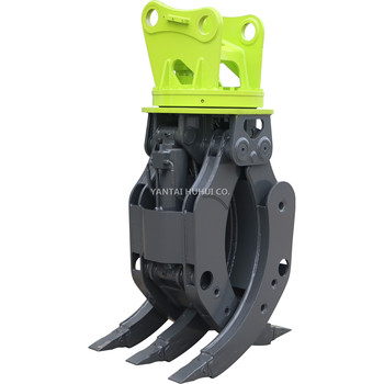 ZX135US Excavator Hydraulic Rotating Grapple for Scrap Steel