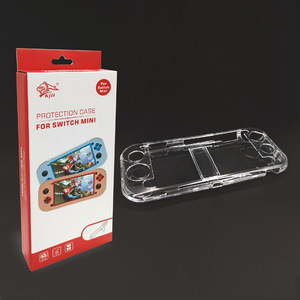 Factory direct supply game host crystal case anti-skid transparent protection shell for Nintendo Switch Lite