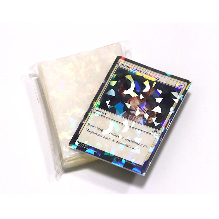 Hot Sells 5000PCS  MTG SIZE HOLOGRAM CARD SLEEVES, holographic card sleeves
