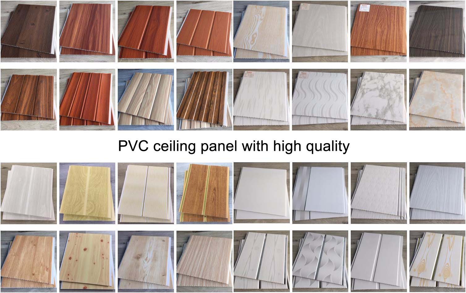 Decoration Plafond PVC Laminated Ceiling Panel