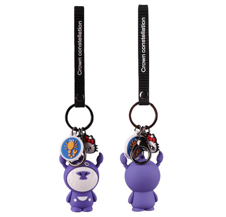 Promotional <strong>gifts</strong> <strong>Cute</strong> animals keychain 3D soft pvc keychain best giveaway presents keyring