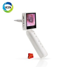 IN-S1 Medis 3.5 Inci Layar USB Otoscope Kamera Nirkabel Wifi THT Digital Video Otoscope