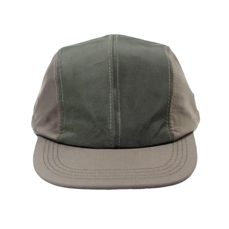 Custom Soft Brim Nylon 4 Panel Running Hats Caps Wholesales