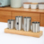 New arrival stainless steel restaurant kitchen flatware cutlery holder caddy for table