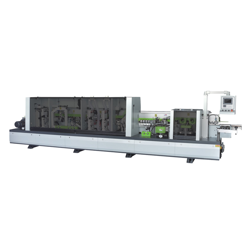 ZICAR MF50F 8 Functions Automatic Corner Rounding Edge Banding Machine
