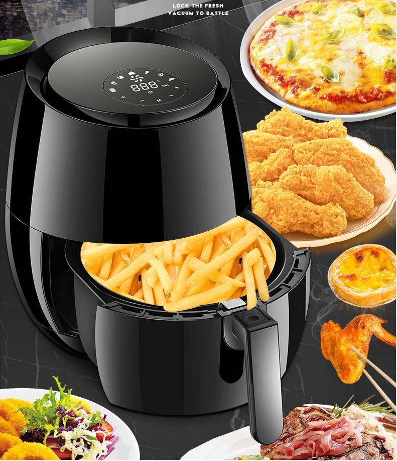 2020 kitchen 5L digital electric deep power air fryer oven