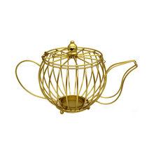 Скандинавский креативный Золотой подсвечник, металлический геометрический подсвечник, свадебные подсвечники, подсвечники, домашние украш...(Китай)