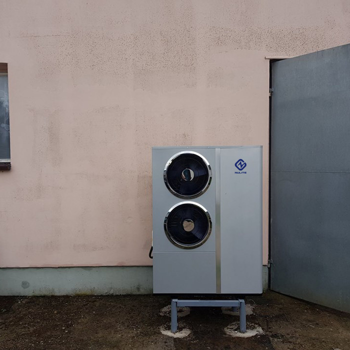 China Wholesale Apartment Air Source Heatpump Factory B245 345 100E R410A DC Inverter Air to Water Heat Pump