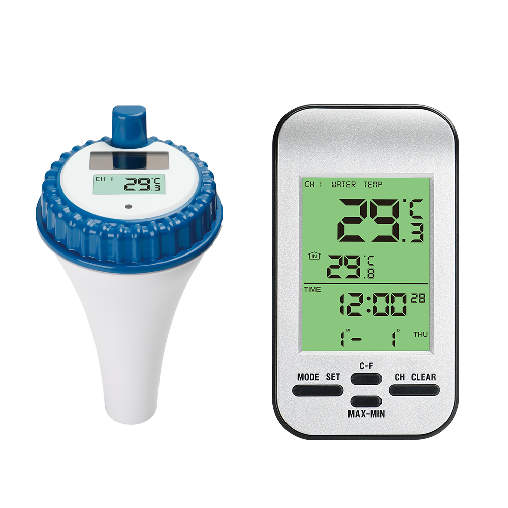 Best Remote Control Digital Wireless Water Swimming Pool Thermometer