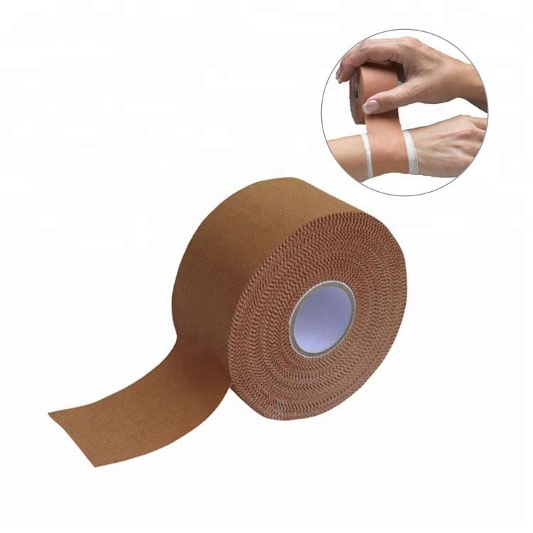100% pure Cotton white Rigid strapping sports tape