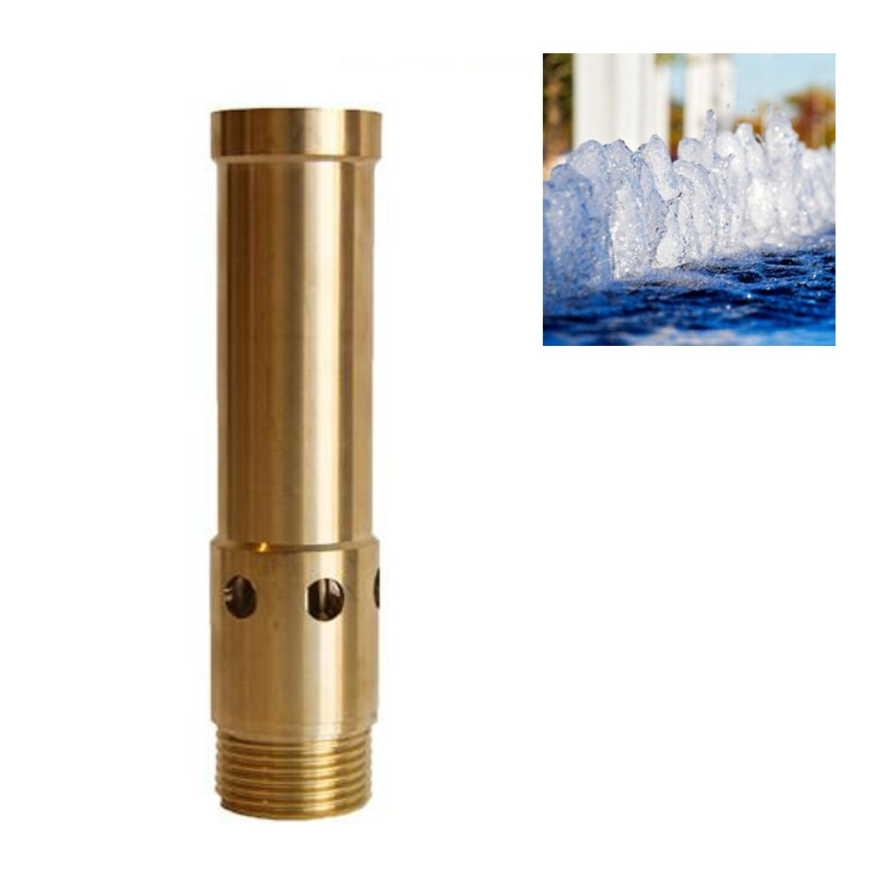 "1/2"" DN15 & 3/4"" DN20 Brass Bubbling Foam Water Fountain Nozzle Spray Pond Sprinkler - for Garden Pond, Amusement Park, Museum"