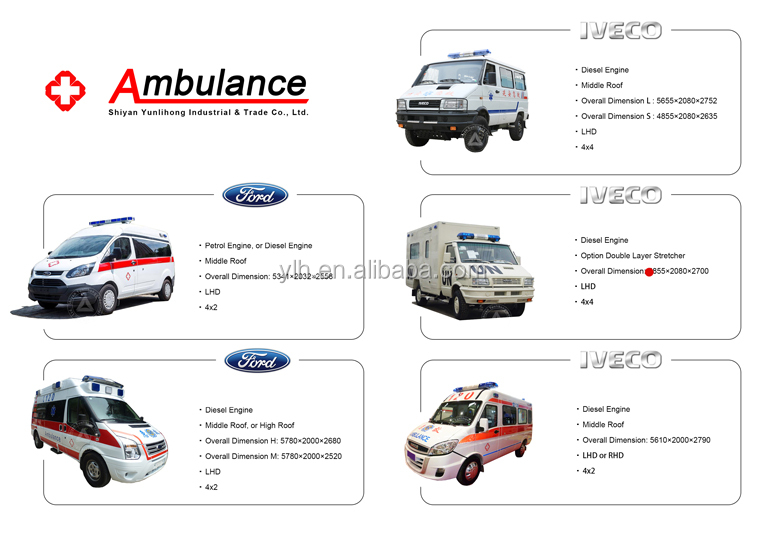 ICU medical negative pressure ambulance emergency
