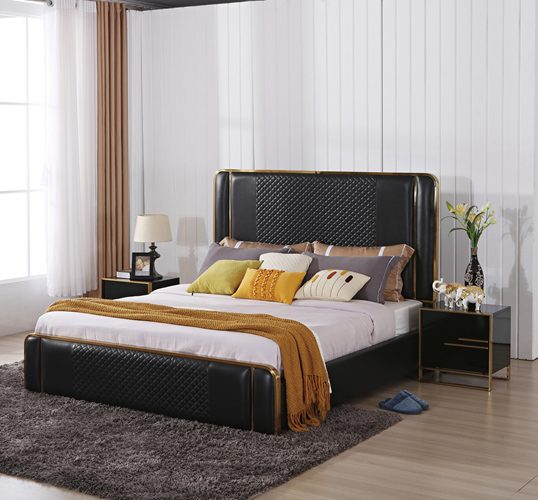 DM8 home leather <strong>bed</strong> room <strong>set</strong>