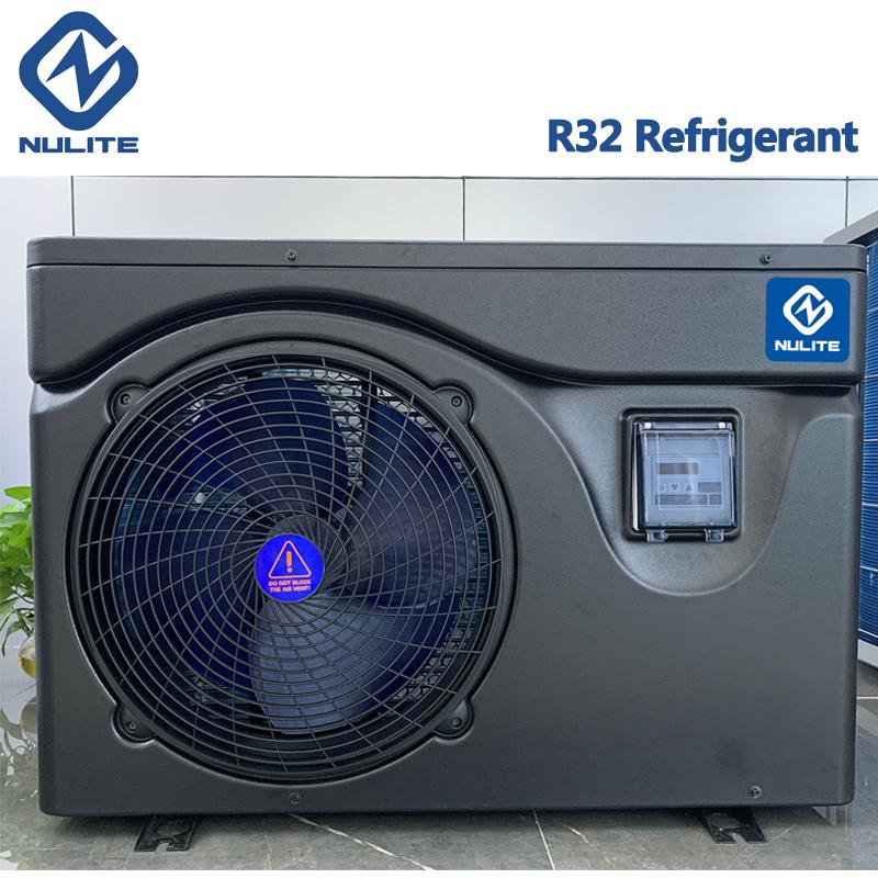 Heat Pump Manufacturer R32 Mini DC Inverter Heat Pump Swimming Pool Water Heater Solar Pool Heater