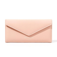 Women Wallet Soft Leather Designer Trifold Multi Card Organizer Lady Clutch