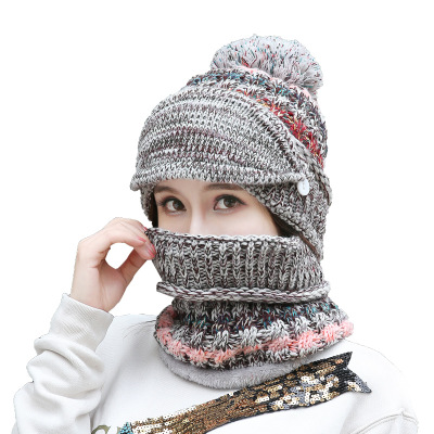 New Arrival Mardi Gras Unisex Knitted Beanie Cap Slouchy Knit Hat