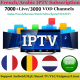 Africa Middle East IPTV for World Arabic Lebano Subcription Code A year with Free test code m3u work in Android box IPTV