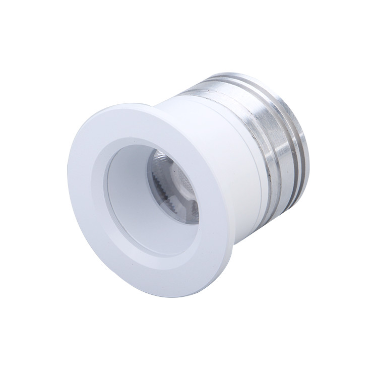 Customized 3w 12v 24 v high luminous led small spot light,cob recessed spotlight small size
