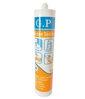 Clear GP Silicone Sealant For Glass And Metal