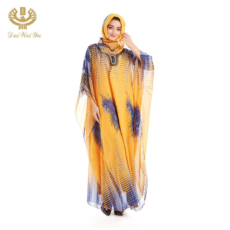 Nieuwste Ontwerpen 3D Bloemen Open Bloemen Kimono Kaftan Hijab Nieuwe Model Abaya In Dubai