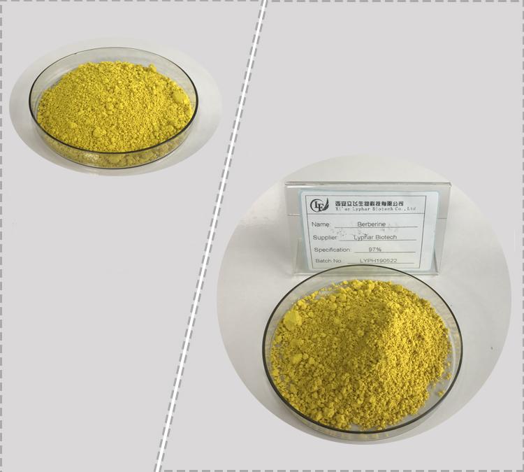 Lyphar Supply Berberine HCL, Berberine Hydrochloride
