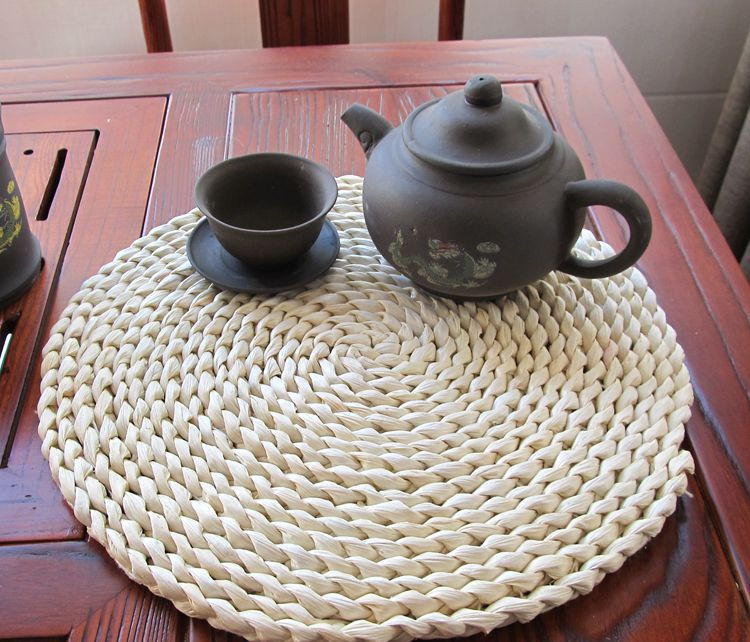 heat proof mat straw mattress table mattress potholder