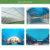 UV Resistant Corrugated Transparent Clear Colored Rain Cover Hard Plastic PVC Roofing Sheet for Shed