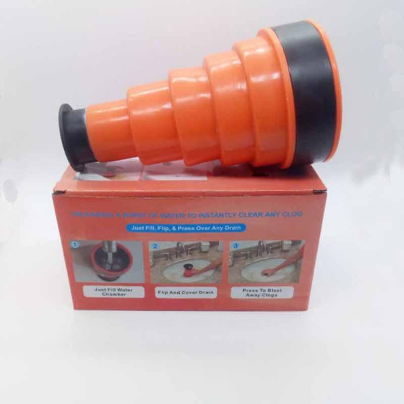 High pressure tool household bathroom drain clog remover tool toilet air power drain tool