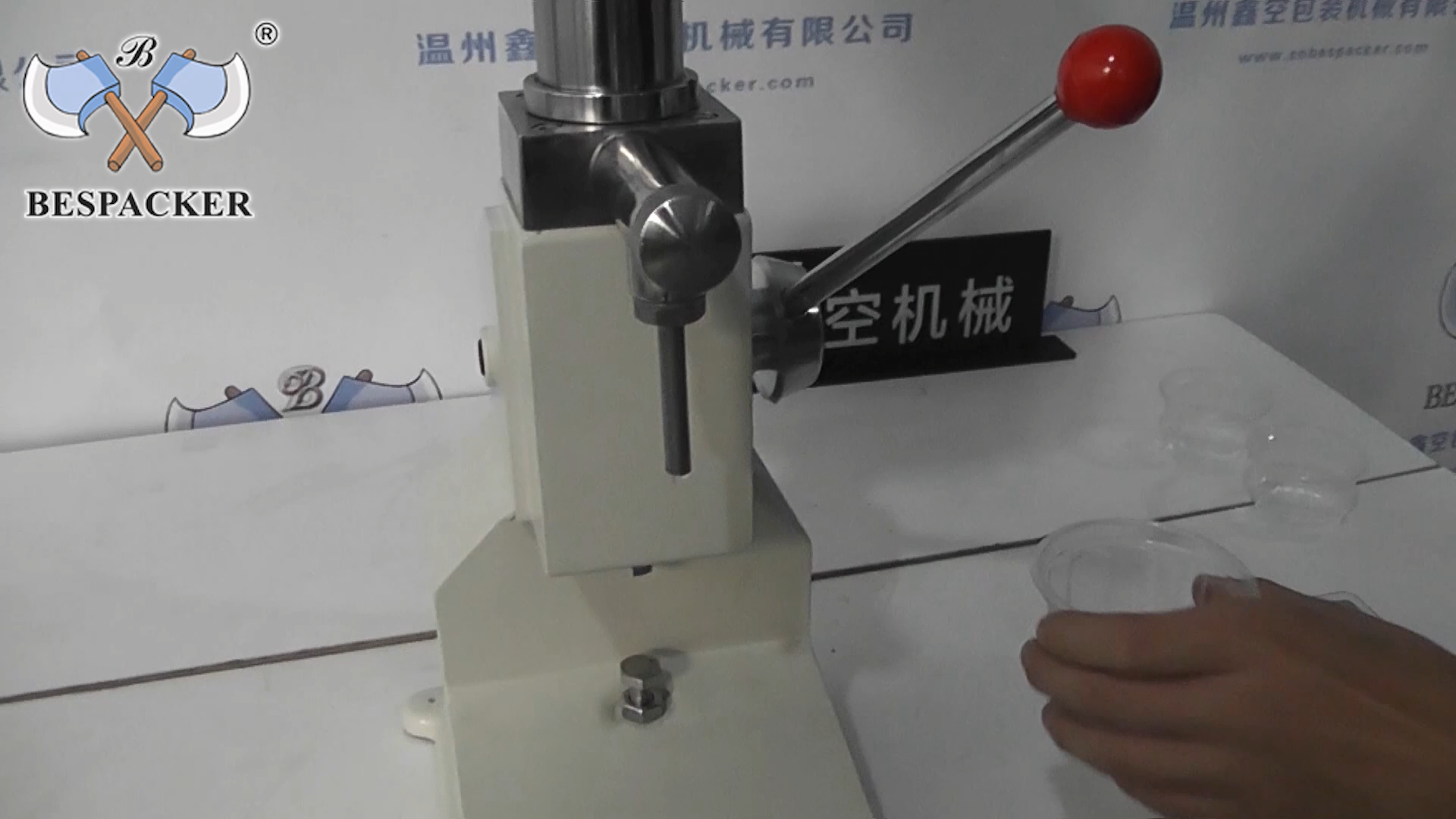 Bespacker A-03 Small manual juice honey cream oil liquid shampoo jam paste filling machine