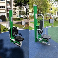 Park Work Out Steel Square Tube Hydraulic Outdoor Fitness Equipment GYX-H05