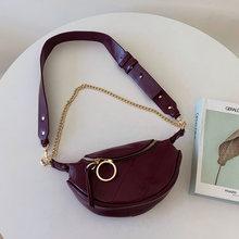 Женская поясная сумка, модная поясная сумка из искусственной кожи, брендовая поясная сумка 2020, новая женская сумка через плечо(Китай)