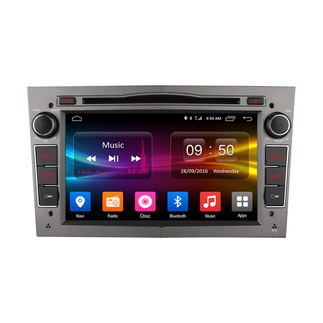 2GB RAM Radio GPS 4G LTE WIFI Android Auto Car DVD Player untuk Opel Corsa 2015