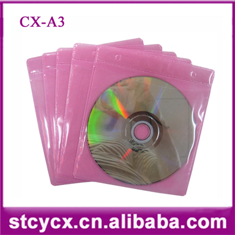 dvd sleeve clear cd plastic bag