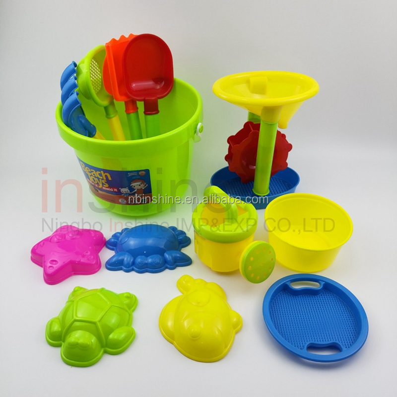 Good quality water toys sand toys cheap price castle mould toys