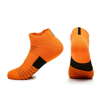 Wholesale Custom Knit Low Cut Ankle Men and Women Sock Anti slip Mesh Breathable Hiking Compression Sports Athletic Socks