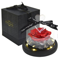 E-1201 Advanced Valentine's Day Gift Box Eternal Preserved Rose for Decor