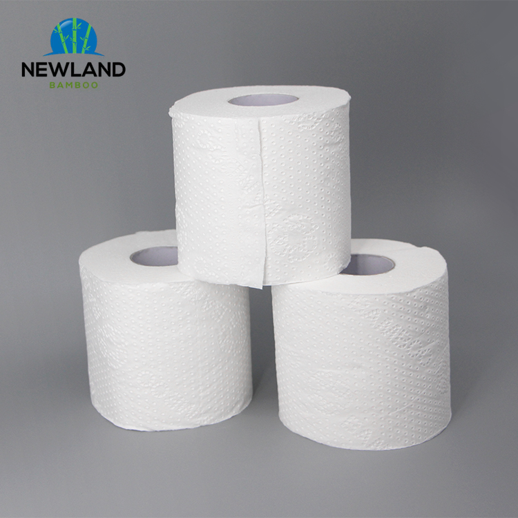 Baby Weiche bambus 3 ply wc Tissue papier Rolle Private Label hersteller