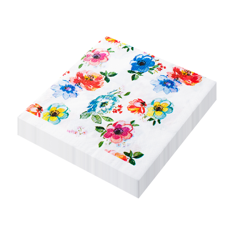Vobaga Bloemen Papier Servetten Tissue Servetten