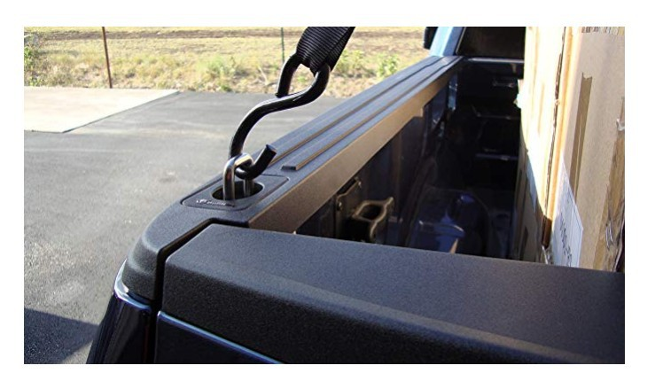 HOT Factory  Retractable Truck Bed Side Wall Anchors for  ToyotaTundra Tie Downs Capacity Retractable ToyotaTundra