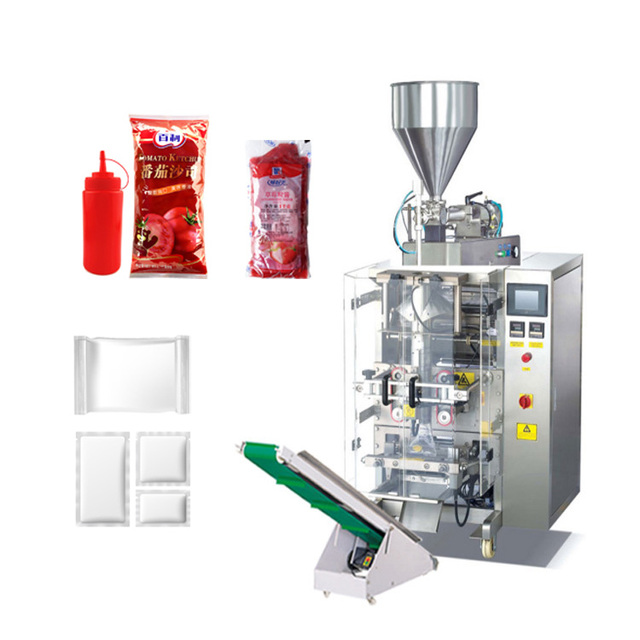 Full Automatic Vertical Liquid Packaging Machine For Honey Packing Or Milk Packing