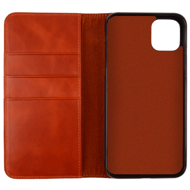 Echt Leer Wallet Case Voor Iphone 11