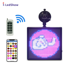 TAXI Emotie Bluetooth Android iOS iPhone Tailgater Sport Team Tonen Plezier Met GIFs En EMOJI LED auto display
